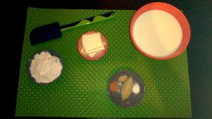ingredientes para salsa bechamel